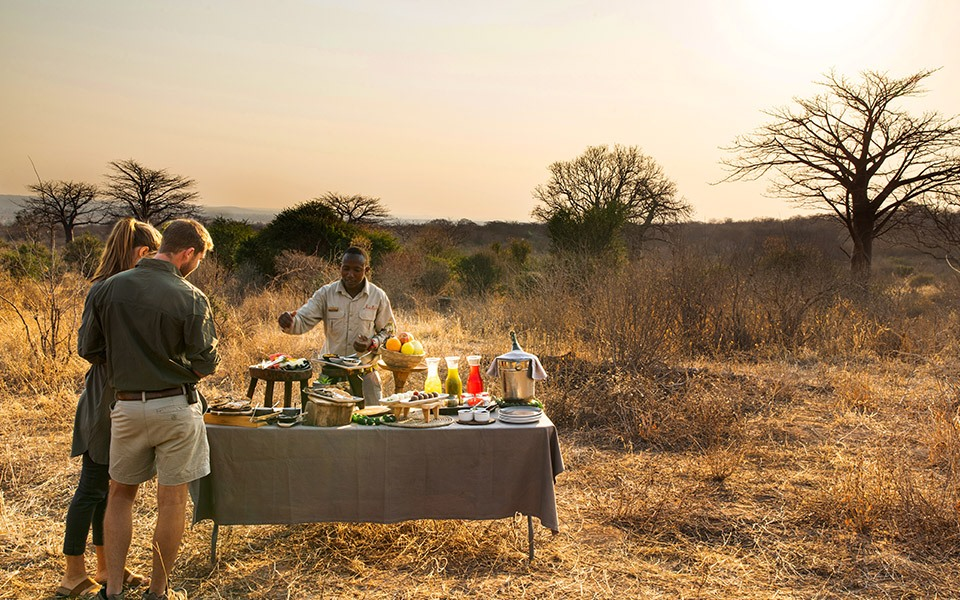 Bush Breakfast in Masai Mara