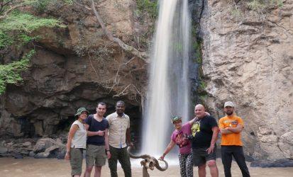 Family safari at Lake Nakuru National Park