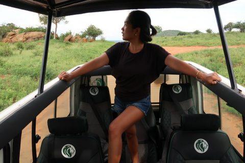 Game drive on a Kenya Safari