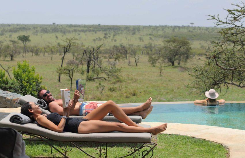 Honeymoon safari in the Wild