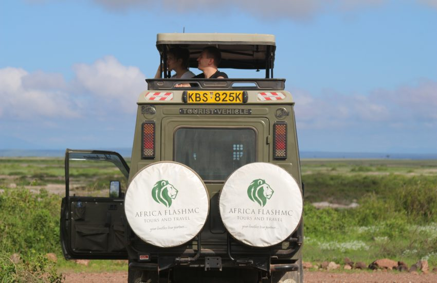 Game Drive in a Kenya Safari