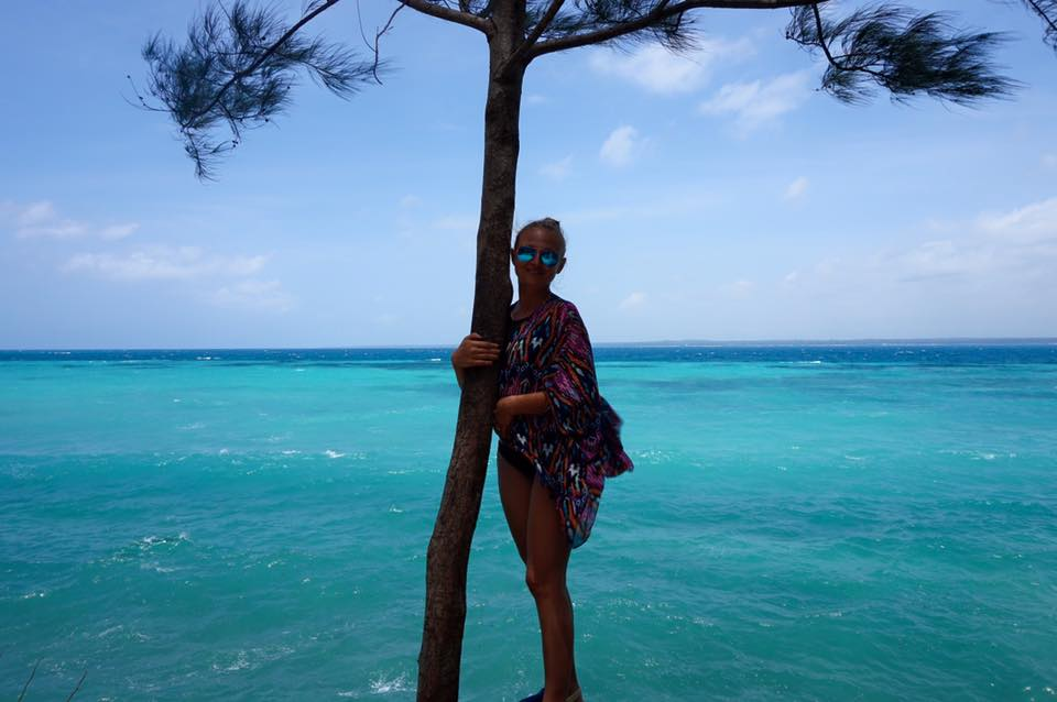 Honeymoon beach holiday
