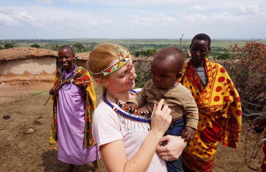 Solo female traveller Safari in Kenya