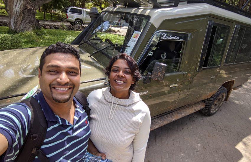 End of safari in Nairobi