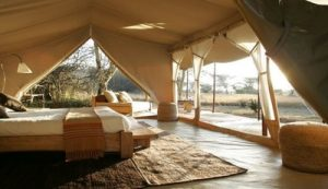 Luxury camping in Kenya