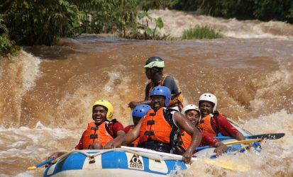 Water Rafting at Sagana