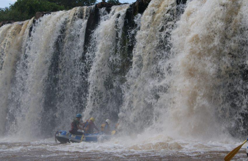 Water Rafting at Sagana