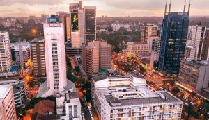 Vibrant city of Nairobi