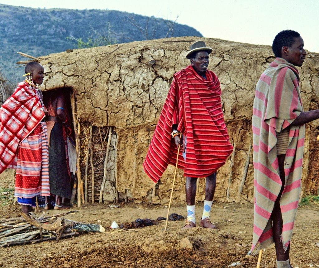 Maasai Tribal Home