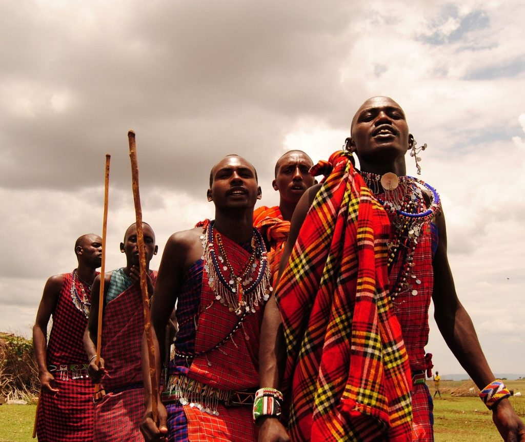 Tribal Maasai Men