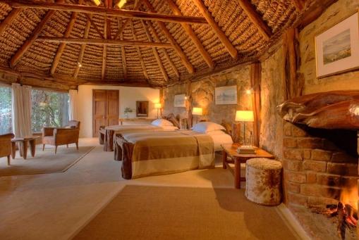 Borana Room Fire Place