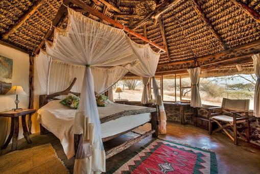 Lewa House Bedroom