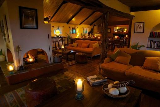 Lewa Safari Sitting Area
