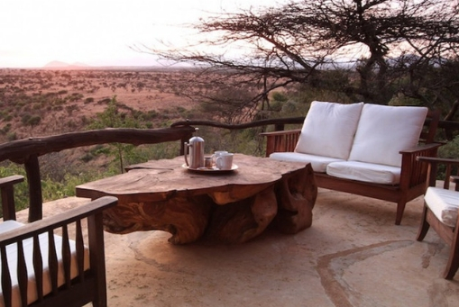 lewa wilderness view