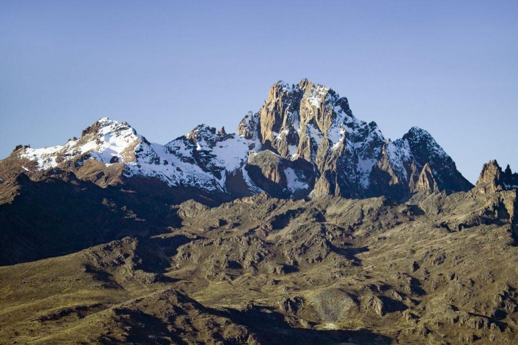 Mount Kenya Standing Proud