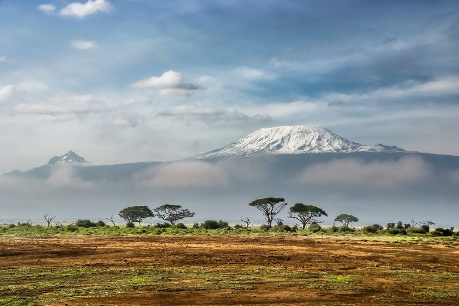 Amboseli national park scenery and the view of the Mt Kilimanjaro - Flash McTours and Travel