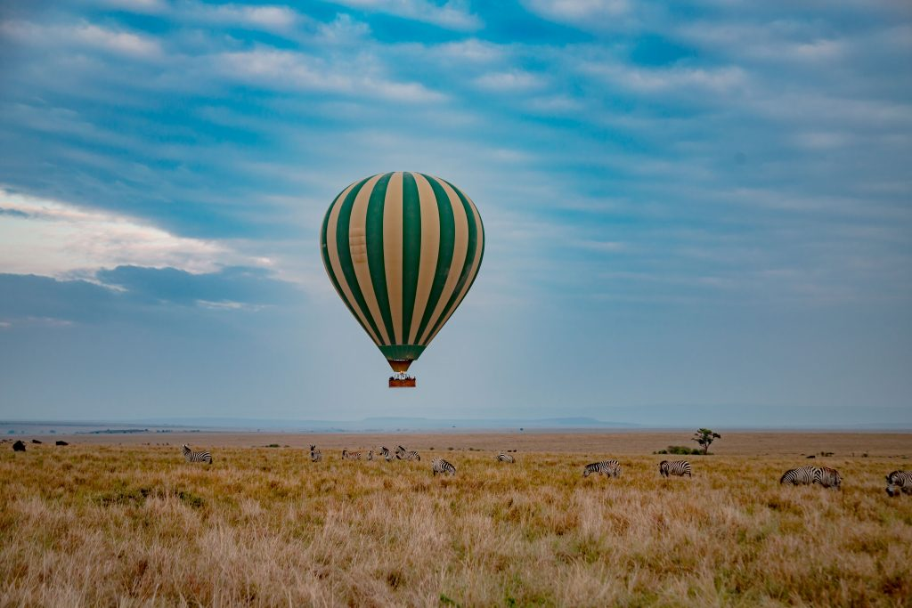 Hot air Balloon in Masai Mara Honeymoon Safari