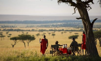 Masai Mara Bush Breakfast