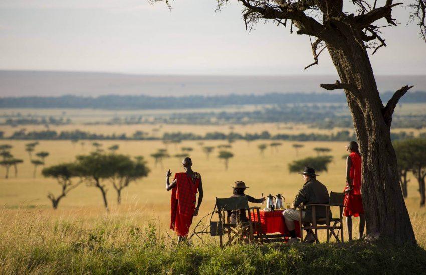 Masai Mara Bush Breakfast