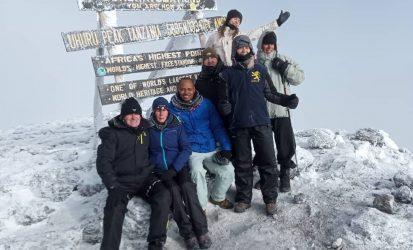 Trekking mount Kilimanjaro